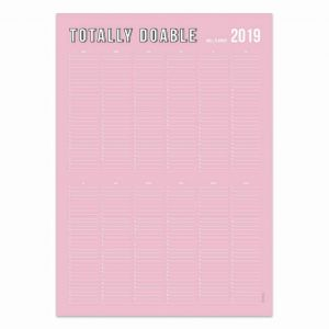 Muurposter planner rose, Studio Stationery 2