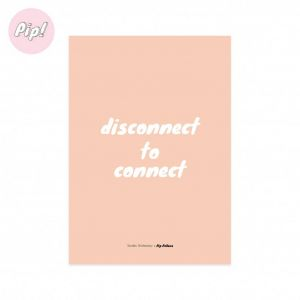 Kaart disconnect to connect, Studio Stationery 1