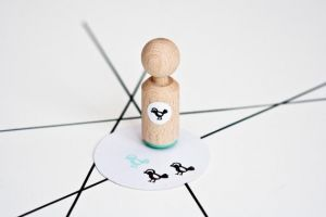 Ministempel vogeltje, Miss Honeybird 2