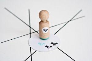 Ministempel vogeltje, Miss Honeybird 3