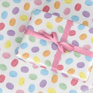 Cadeaupapier macarons, Studio Schatkist 2