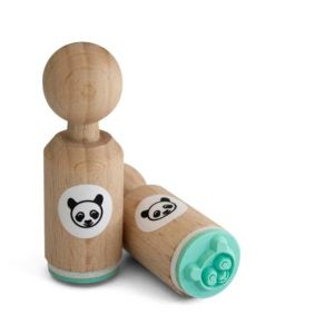 Mini stempel panda, Miss Honeybird 2