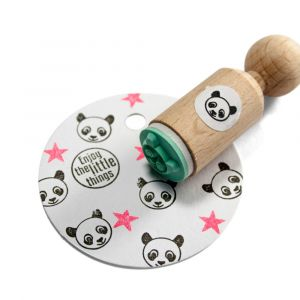 Mini stempel panda, Miss Honeybird 3