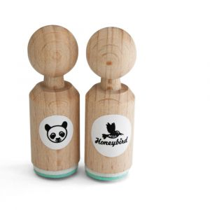 Mini stempel panda, Miss Honeybird 4