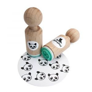 Mini stempel panda, Miss Honeybird 1