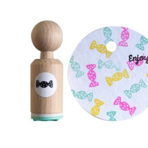 Mini stempel snoepje, Miss Honeybird 2