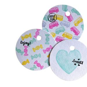 Mini stempel snoepje, Miss Honeybird 3