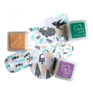 Mini stempel snoepje, Miss Honeybird 4