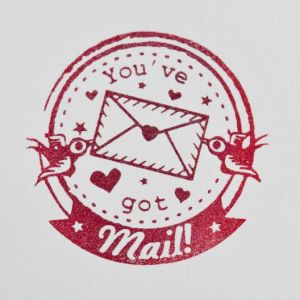 You've got mail post stempel, Miss Honeybird 2