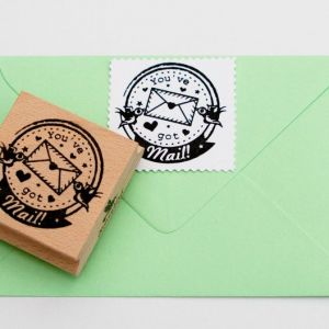 You've got mail post stempel, Miss Honeybird 4
