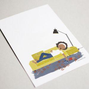 Belly kaart 'poldersofa' Studio Zwaanstraat 3