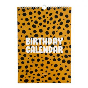 Kalender Cheetah, Studio Stationery 1