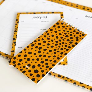 A5 Notepad cheetah, Studio Stationery 4