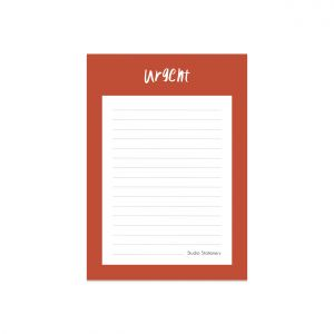 A6 Notitieblok Urgent, Studio Stationery 2