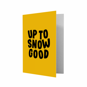 Kerstkaart Up to snow good, Studio Stationery 1