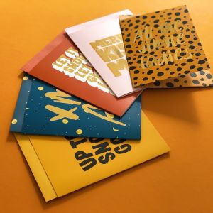 Kerstkaart Snow-Glow-Wow, Studio Stationery 3