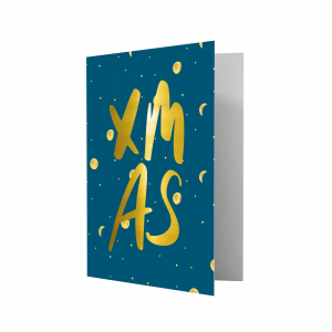 Kerstkaart XMAS, Studio Stationery 1
