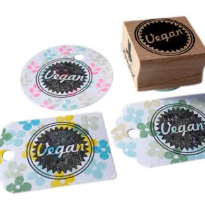 Vegan stempel, Miss Honeybird 2