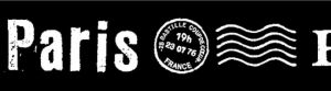 Maskingtape zwart Parijs - Paris Masté