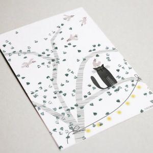 Kaart 'Wereldvrede', Studio Zwaanstraat 4