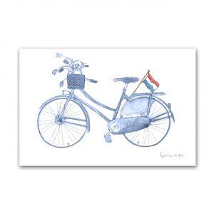 Kaart Hollands blauw fiets, Fanatasiebeestjes 1