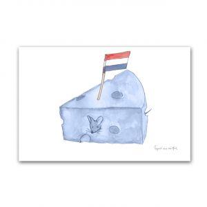 Kaart Hollands blauw kaas, Fanatasiebeestjes 1
