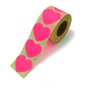 Hart stickers neon rose 1