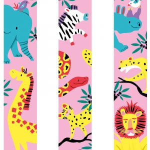 Washitape Pink Safari, Marijke Buurlage 2