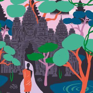 Kaart Angkor Wat, Marijke Buurlage 2