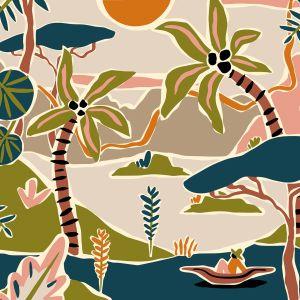 Kaart regenwoud, Marijke Buurlage 3