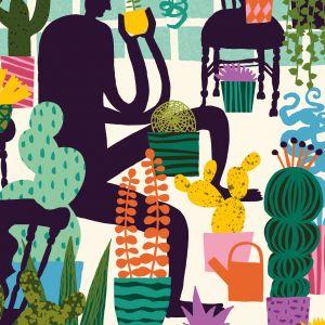 Kaart cactus, Marijke Buurlage 2