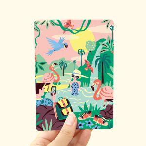 Kaart Tropisch Paradijs, Marijke Buurlage 1