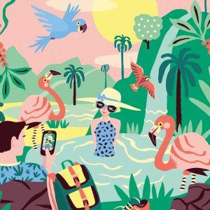 Kaart Tropisch Paradijs, Marijke Buurlage 2