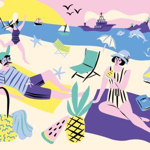 Kaart Strand, Marijke Buurlage 2