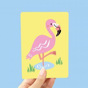 Kaart Flamingo, Marijke Buurlage 1
