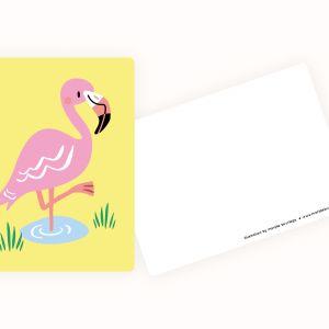 Kaart Flamingo, Marijke Buurlage 3