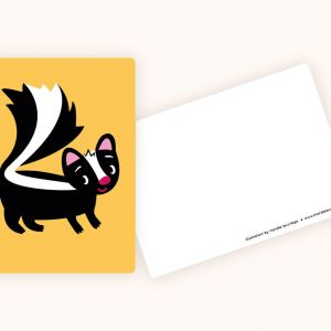Kaart Stinkdiertje, Marijke Buurlage 2