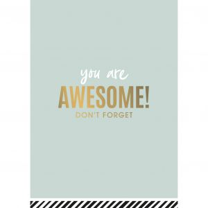 Kaart You are Awesome, CWH 1