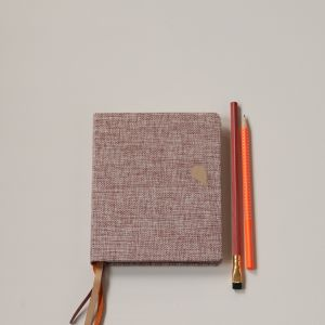 A6+ Linnen notitieboek Tinne+Mia 3