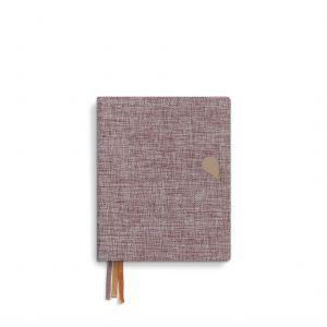 A6+ Linnen notitieboek Tinne+Mia 1