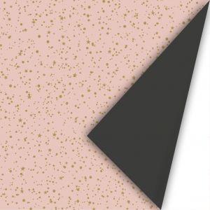 Cadeaupapier glitter rose 2