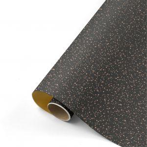 Cadeaupapier glitter zwart 1