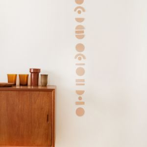 Abstrakt slinger beige, Jurianne Matter 1