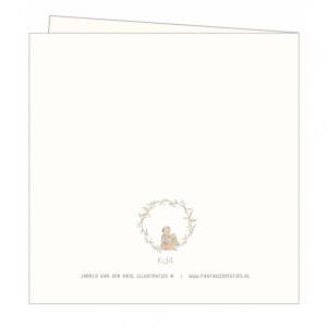 Kerstkaart engeltje, Ingrid van der krol 2