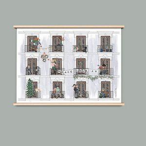 A4 poster Winter, Studiozwaanstraat 1