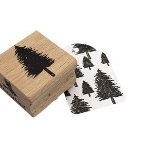 Stempel naaldboom of kerstboom, Miss Honeybird 2