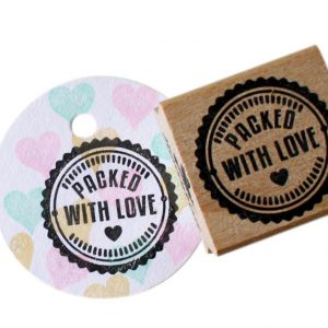 Stempel Packed with Love, Miss Honeybird 3