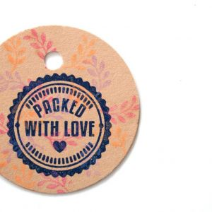 Stempel Packed with Love, Miss Honeybird 4