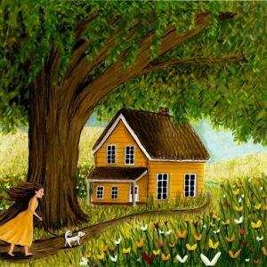 Kaart droomhuis, Esther Bennink 1