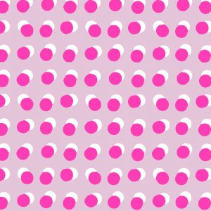 Cadeaupapier dots rose/neon, Studio Stationery 2